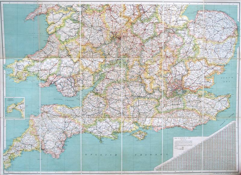 British isles england wales search results copperplate g bacon map of england gumiabroncs Image collections